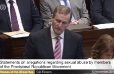 In full: Enda Kenny's speech accusing Sinn Féin of moving sex abusers to the South