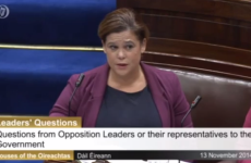 Dáil adjourned until Tuesday after Mary Lou stages four-hour sit-in