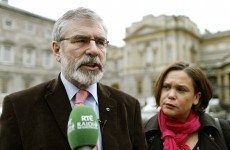 "Gerry Adams thinks the Ceann Comhairle is ""unfair and petulant"""
