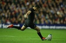 Scotland came agonisingly close to beating the All Blacks earlier
