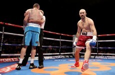 Flying stools and devastating punches: there was a lot of boxing action last night