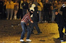 Petrol bombs thrown at police in Portadown riots