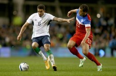 Could Cyrus Christie be a decent option for Ireland at left-back?