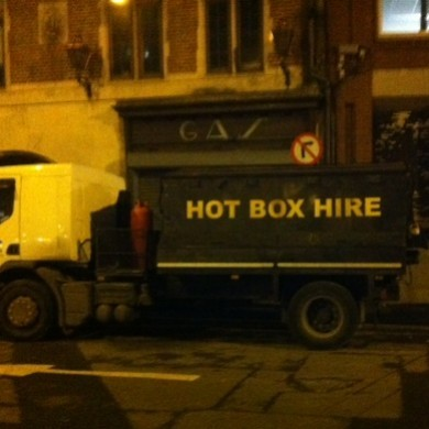 Um, WHAT is this truck in Dublin advertising?