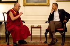 Obama-Lama summit goes ahead but China ain't pleased