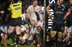 Couple of Cave tries end Ospreys winning run as Ulster move level at Pro12 summit