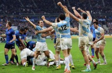 Four drop goals help Argentina to upset Saint-André's France in Paris
