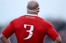 Munster name squad for Italian newcomers