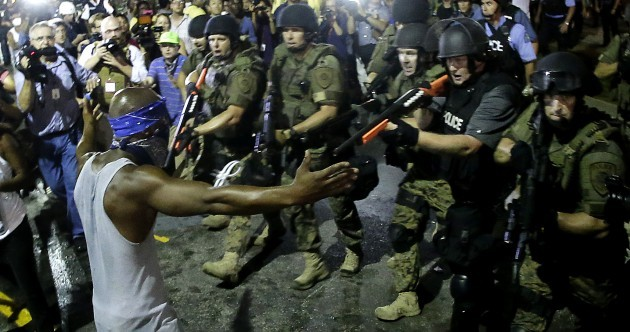 Amnesty has sent its people to Ferguson to monitor police at protests