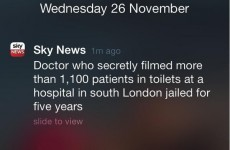 Sky News inadvertently pitched a particularly seedy episode of Doctor Who