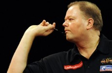 Barney forgets his darts but remembers to bring his game