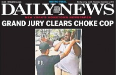 """We can't breathe"": Outrage after jury decides cop won't be prosecuted for man's death"