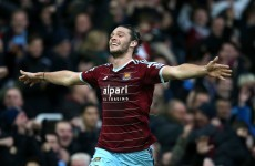 Carroll inspires as West Ham's excellent run continues against Swansea