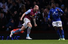 Hutton scores unlikely winner for Aston Villa as Leicester's woeful run continues