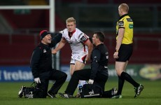 Revolving door at 12 for Ulster as Olding suffers concussion and McCloskey injures elbow