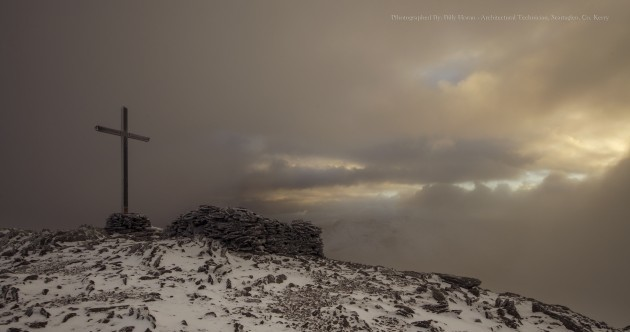 Ireland's highest peak is looking well under the first snows of the season