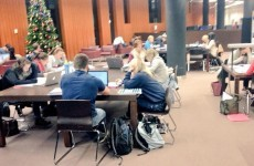 Students stage 'study-in' at UCC library over opening hours