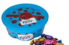 Roses are beating Quality Street in sales at the moment, but ONLY JUST