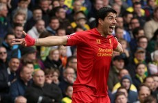Free-kicks and clever flicks: These were Luis Suarez's best goals in 2014