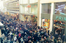 Penneys just opened in Brussels and the queue was absolutely bonkers