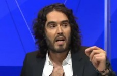 "Russell Brand tells Nigel Farage: ""You're a pound shop Enoch Powell"""