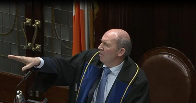 This video of TDs arguing over nothing is everything that's wrong with the Dáil