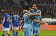 Lampard moves level with Thierry Henry on 175 Premier League goals as City edge past Leicester