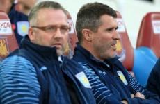 Did Roy Keane scorch the earth at Aston Villa? Paul Lambert denies it