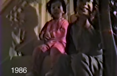 Dad films 25 years of kids coming downstairs at Christmas