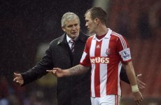 Glenn Whelan's Stoke future uncertain as club prepare to discuss a new contract