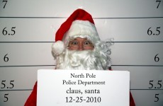Police are looking for Santa Claus because he robbed a bank