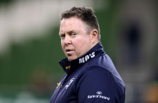 'People will write what they write' – O'Connor defends Leinster's season