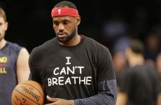 'I Can't Breathe' t-shirts latest in long line of athletes making political statements