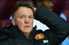 Van Gaal: Results like Aston Villa draw could cost Manchester United the title