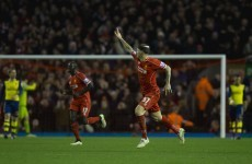 As it happened: Liverpool v Arsenal, Premier League