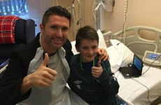 Happy Christmas – Robbie Keane invites child with CF to Euro 2016 qualifier