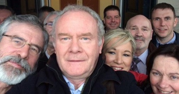 'Broad agreement' reached in Stormont talks as politicians take selfies and listen to Serial
