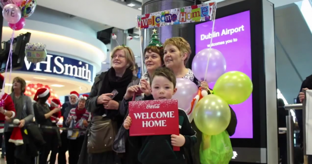 These Christmas homecomings at Dublin Airport will warm the cockles of your heart