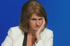 There were 24 data breaches in Joan Burton's department this year