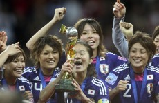Revelation of nude pictures poses problems for Japanese women's team