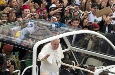 How would you like to spend New Year's on a tropical beach with the Pope?