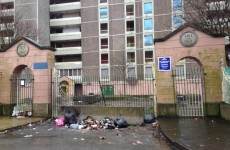 Rubbish dumping still a problem around the last remaining flats in Ballymun