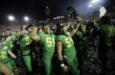 Oregon players will be punished for 'no means no' taunt