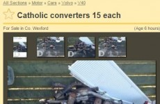 There are 'Catholic converters' for sale on DoneDeal