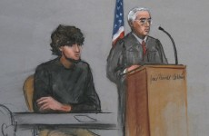 Jurors got their first look at shaggy-haired Boston bombing accused as death penalty looms large