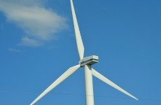 A twenty-five metre wind turbine blade has fallen to the ground