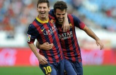 Fabregas: I'm not trying to lure Messi to Chelsea
