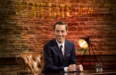 Here's a peek at the brand new Late Late Show set