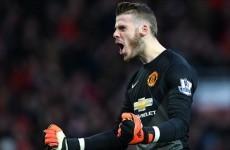 Manchester United have left De Gea exit door open