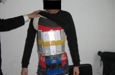 Man arrested at Chinese border with 94 iPhones strapped to his body